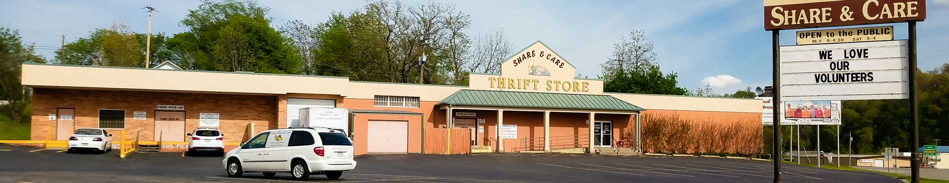 Ozark Share And Care Storefront